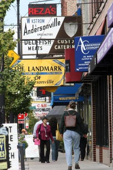 Andersonville maintains its Swedish roots.